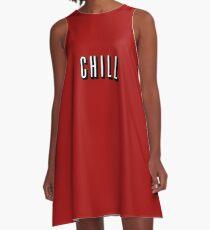 Netflix & Chill A-Line Dress