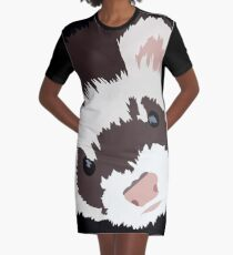 Ferret head Graphic T-Shirt Dress