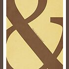 Type Term - Ampersand by Chromapit Designs