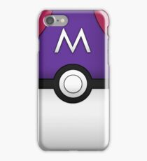 Masterball iPhone Case/Skin