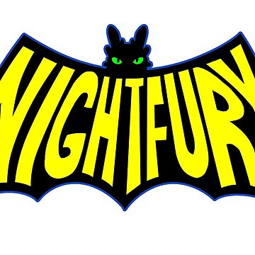 Na Na Na Na Nightfury by sugarpoultry