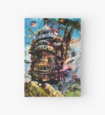 howl's moving castle Hardcover Journal