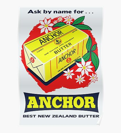 Anchor Butter Poster Poster