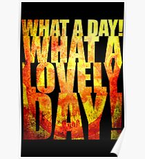 What A Lovely Day! Poster