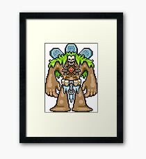 The Crypt Golem Framed Print