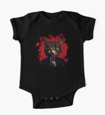 MEW-OOD - Kitty Ood Halfbreed Portrait One Piece - Short Sleeve