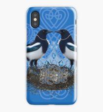 Magpies iPhone Case/Skin