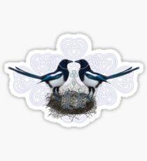 Magpies Sticker