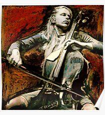 Cello Music Poster