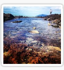 Rock pools, of Central Queensland  Sticker