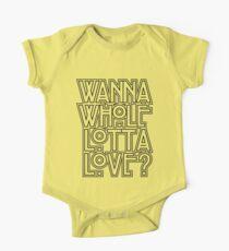 Wanna Whole Lotta Love Kids Clothes