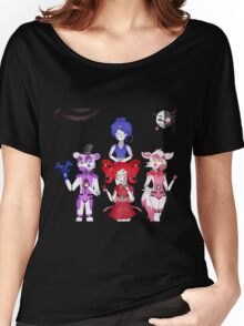 FNAF Sister Location Gang Women's Relaxed Fit T-Shirt