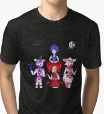 FNAF Sister Location Gang Tri-blend T-Shirt