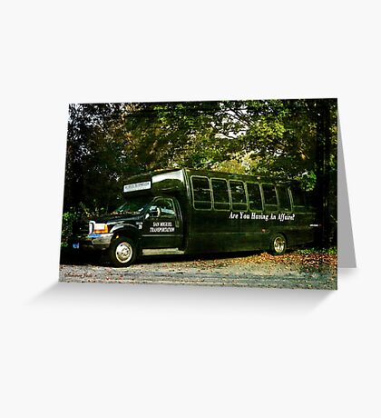 When You Really Need a Bus! Greeting Card