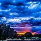 Smith Rock Sunset by Richard Bozarth