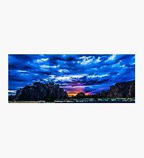 Smith Rock Sunset Photographic Print