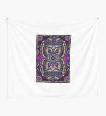Unique abstract digital design poster print- Aurum-79 Wall Tapestry