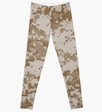 Digital Desert Camo Leggings