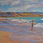 Heading for the Surf by Lynda Robinson
