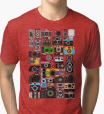Pixelated Camerass Tri-blend T-Shirt