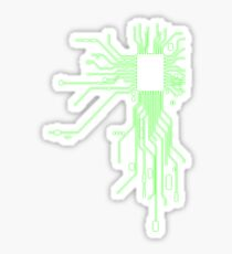 Circuitry Sticker