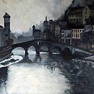 Ponte Pietra by Beth A