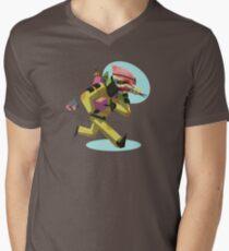Demolitions Expert Woody Boomberg Men's V-Neck T-Shirt