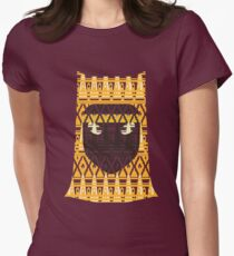 Journey Pattern Women's Fitted T-Shirt