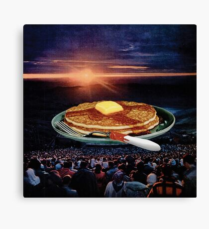Breakfast Canvas Print