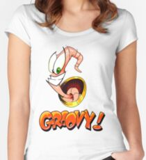 Groovy! Women's Fitted Scoop T-Shirt