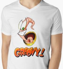Groovy! Mens V-Neck T-Shirt