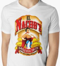 El Nacho Libre - Eagle Egg Tacos Men's V-Neck T-Shirt