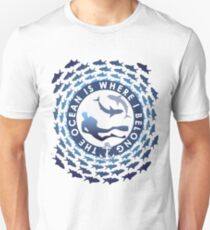 The Ocean Is Where I Belong Unisex T-Shirt