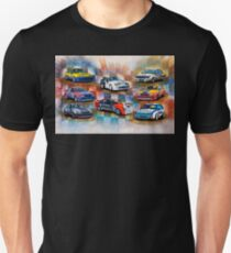 Racing Commodores Unisex T-Shirt