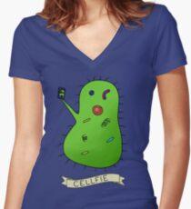 Cellfie Women's Fitted V-Neck T-Shirt
