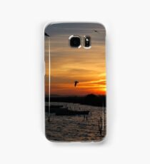 Sunset Silhouettes Samsung Galaxy Case/Skin