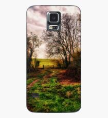 Muddy Country Path HDR Case/Skin for Samsung Galaxy