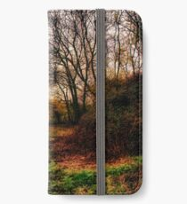 Muddy Country Path HDR iPhone Wallet/Case/Skin