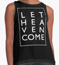 Let Heaven Come - White Sleeveless Top