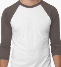 Lass den Himmel kommen - Weiß Baseballshirt für Männer