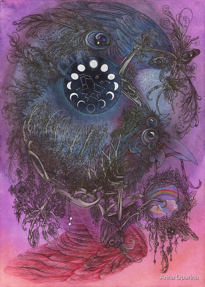 Night Bird by Anna Oparina