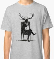 Hannibal Lecter NBC Stag Antlers Lamb Classic T-Shirt