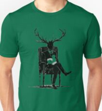 Hannibal Lecter NBC Stag Antlers Lamb Unisex T-Shirt
