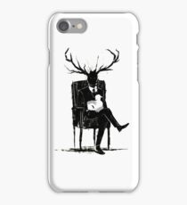 Hannibal Lecter NBC Stag Antlers Lamb iPhone Case/Skin