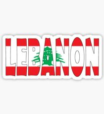 Lebanon Sticker