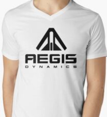 Aegis Dynamics Men's V-Neck T-Shirt