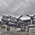 Lancaster Bomber Ready for taxi (just jane) by Mike Higgins