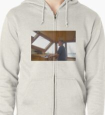Concentration Zipped Hoodie