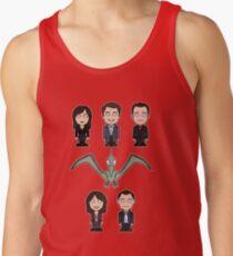Torchwood team (shirt) Tank Top