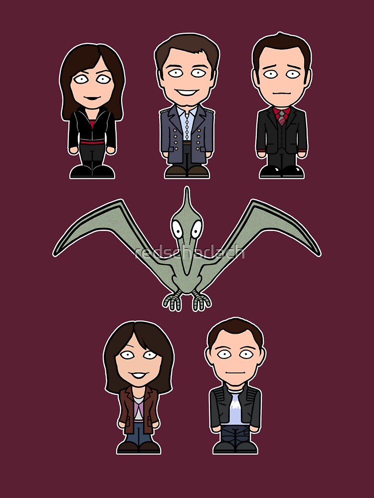 Torchwood team (shirt) by redscharlach